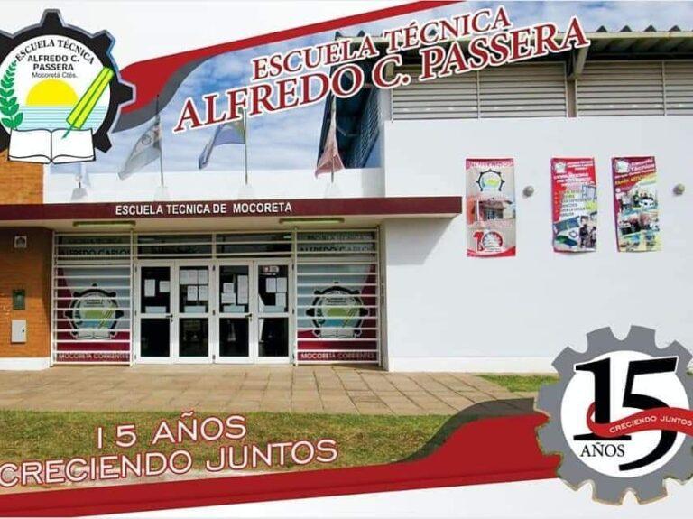 """Se Lanzó el Programa Nacional """"Medios Escolares"""" en la Escuela Técnica Alfredo C. Passera."""