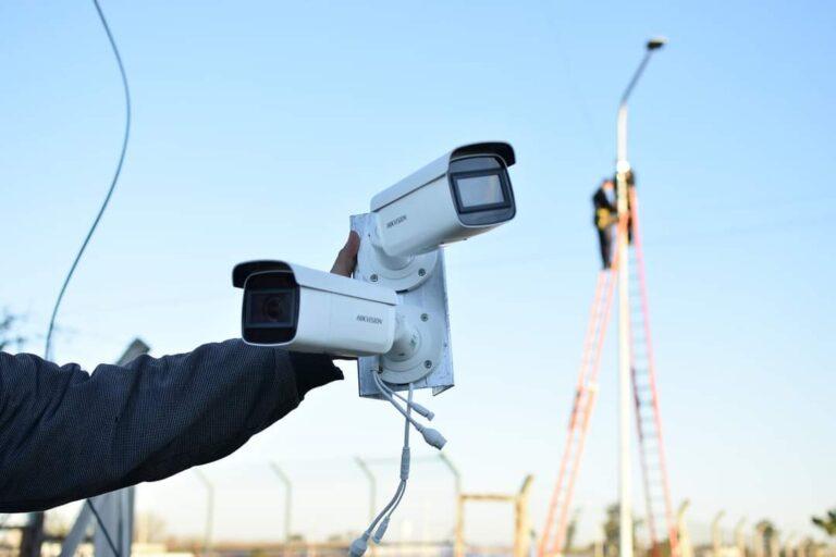 Se Avanza con la Instalación de Cámaras de Videovigilancia en la Ciudad.