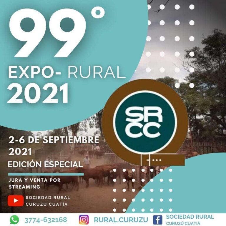 Con ciertas Restricciones, Curuzú tendrá su 99 Exposición Feria Rural.