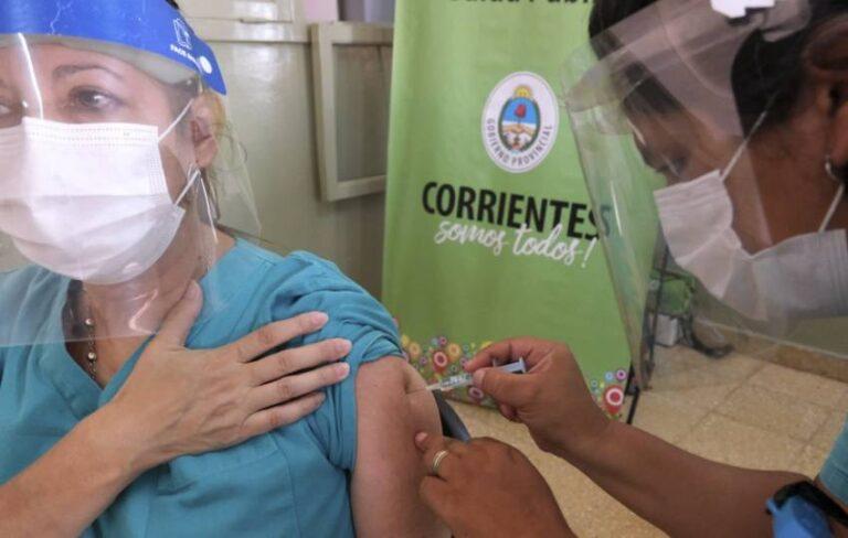 Vacunación anti-Covid en Corrientes: Casi el 70% de la población ya tiene por lo menos la primera dosis.