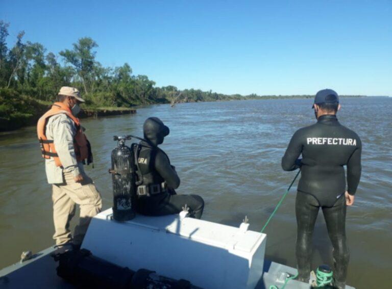 GOYA: Continuarán hoy con la búsqueda de los desaparecidos en el Paraná.