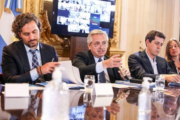 Alberto Fernández tendrá listo su nuevo gabinete entre hoy y mañana.